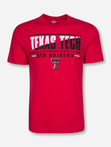 Arena Texas Tech Two Face on Red T-Shirt