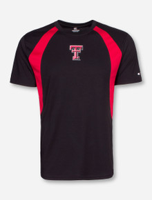 Arena Texas Tech In the Vault Red and Black T-Shirt