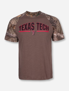 Arena Texas Tech Home Range RealTree Camo T-Shirt