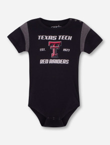 "Garb Texas Tech ""Rhett"" INFANT Black Onesie"