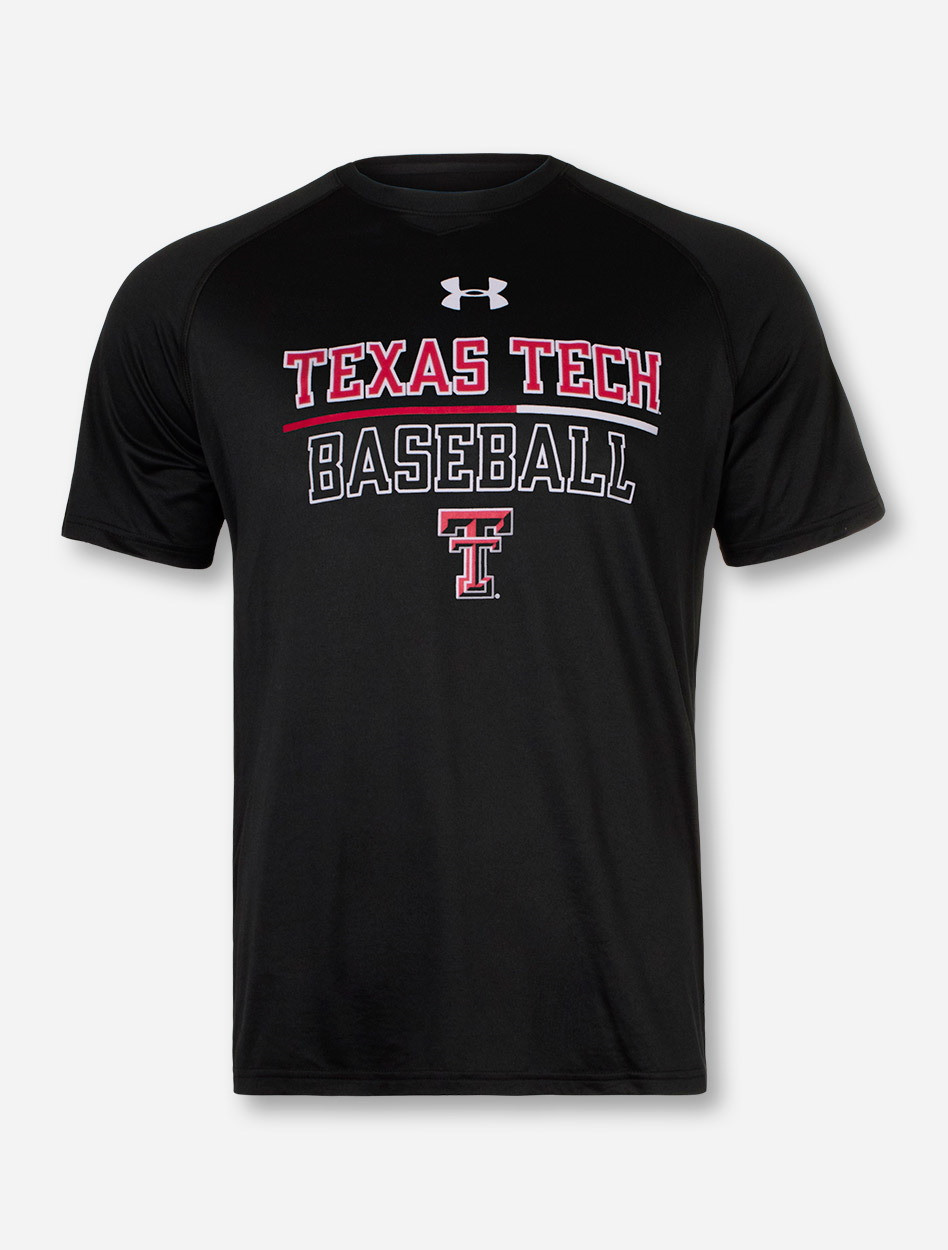 Under armour texas tech red raiders baseball 2017 on the for Texas baseball t shirt
