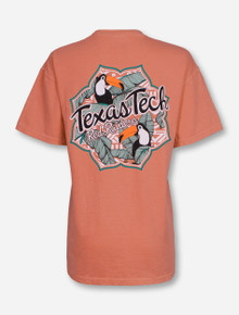 "Texas Tech Red Raiders ""Yes Toucan"" Terracotta T-Shirt"