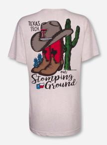 "Texas Tech ""Stomping Ground"" Oatmeal Triblend T-Shirt"