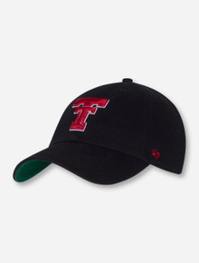 "47 Brand Texas Tech ""2017 Calvin Franchise"" Throwback Double T Fitted Cap"