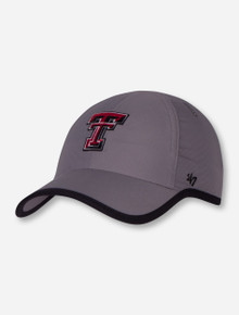 "47 Brand Texas Tech ""Compete Clean Up"" Women's Reflective Grey Adjustable Cap"