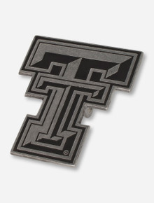 Texas Tech Double T Pewter Hitch Cover