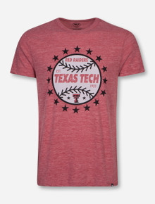 "Texas Tech Red Raiders Baseball ""Rematch"" Heather Red T-Shirt"