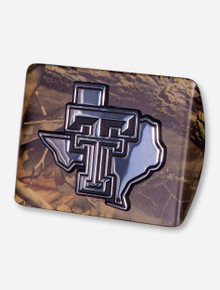 Texas Tech Lone Star Pride on Camo Hitch Cover