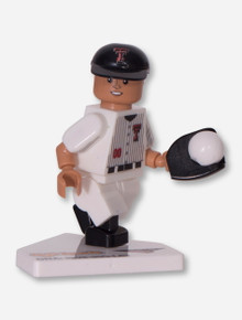 Lego Compatible Texas Tech Red Raiders Baseball Player Minifig #00