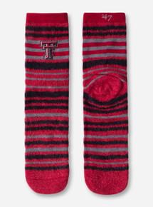"47 Brand Texas Tech Red Raiders ""Shiloh"" Half Crew Socks"