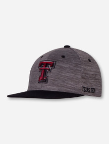"Top of the World Texas Tech ""Backstop"" YOUTH Grey Flat Bill Cap"
