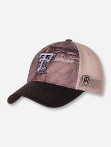"Top of the World Texas Tech ""Logger"" Camo Snapback Cap"
