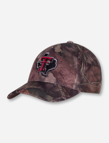 "Top of the World Texas Tech ""Mossy 3"" Camo Stretch Fit Cap"