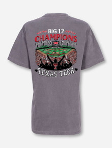 """Texas Tech Red Raiders Big XII Champions """"In the Park"""" Grey T-Shirt"""