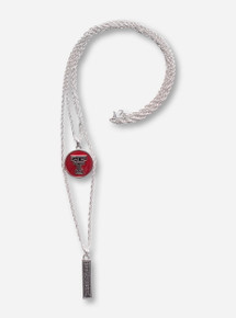 Texas Tech Double Necklace with Double T and Red Raiders Charms