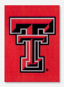 "Texas Tech Double T 13"" x 18"" Red Garden Banner"