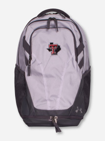"Under Armour Texas Tech ""Hustle III"" Lone Star Pride White Back Pack"