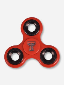 Texas Tech Red Raiders Double T Red Fidget Spinner