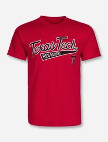 Texas Tech Red Raiders Baseball Tail Red T-Shirt
