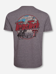 "Texas Tech Red Raiders ""Caprock"" Heather Grey T-Shirt"
