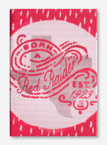 Born a Red Raider Canvas Wrapped Magnet