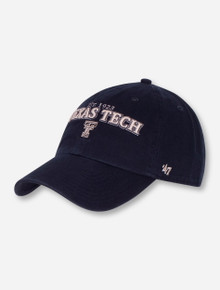 "47 Brand Texas Tech ""Clean Up Yakker"" Adjustable Navy Cap"