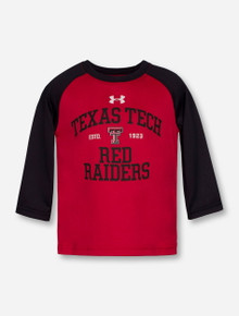 Under Armour Texas Tech Red Raiders INFANT Red & Black Long Sleeve