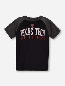 "Garb 2017 Texas Tech ""Dale"" TODDLER Black & Heather Charcoal T-Shirt"