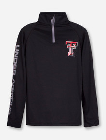 Under Armour Texas Tech Red Raiders Double T YOUTH Quarter Zip Pullover