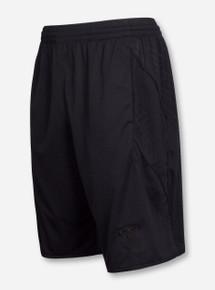 Under Armour Texas Tech Tonal Black Double T Digital Pattern Gym Shorts