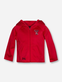 Under Armour Texas Tech Double T INFANT Full Zip Red Hoodie