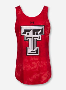 Under Armour Texas Tech Double T Fusion Tank Top