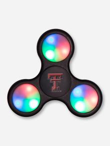 Texas Tech Double T LED Light Fidget Spinner