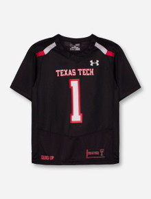 Under Armour Texas Tech Red Raiders #1 Sideline YOUTH Jersey