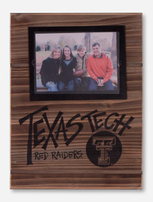 Large Texas Tech Red Raiders Wood Panel Frame