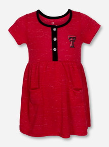 "Arena Texas Tech Red Raiders ""Triple Jump"" INFANT Onesie Dress"