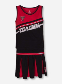 """Arena Texas Tech Red Raiders """"Curling"""" YOUTH Cheerleading Set"""