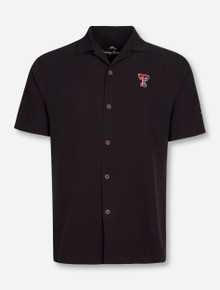 Tommy Bahama Texas Tech Red Raiders Double Short Sleeve Dress Shirt