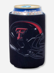 Texas Tech ATMO Helmet Black Koozie