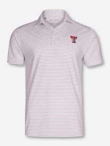 "Under Armour 2017 Texas Tech Red Raiders ""Playoff Stripe"" Polo"