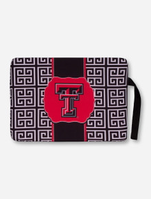 "Texas Tech Red Raiders ""Greek Key"" Stadium Seat Cushion"