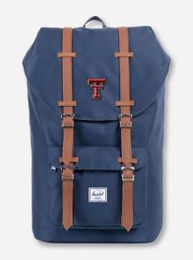 "Herschel Texas Tech Red Raiders ""Little America"" Navy Backpack"