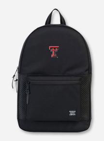 """Herschel Texas Tech Red Raiders """"Settlement Aspect"""" Black Backpack"""