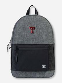 """Herschel Texas Tech Red Raiders """"Settlement Aspect"""" Black & Charcoal Backpack"""