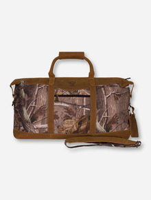Canyon Outback Texas Tech Red Raiders Realtree Camo Duffle Bag