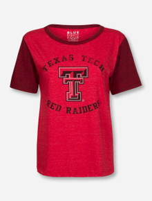 "Texas Tech Red Raiders ""Guns Up Back"" Triblend T-Shirt"