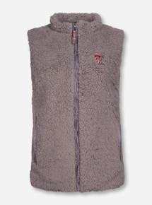 """Texas Tech Red Raiders """"Sherpa"""" Plush Fur Vest"""
