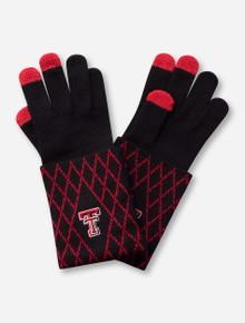 Emerson Street Texas Tech Red Raiders Two-Tone Knit Gloves