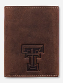 Canyon Outback Texas Tech Red Raiders Double T Trifold Wallet