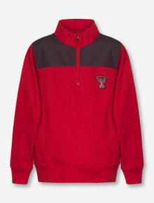"""Texas Tech Red Raiders Garb """"Lewis"""" YOUTH Half Zip Pullover"""